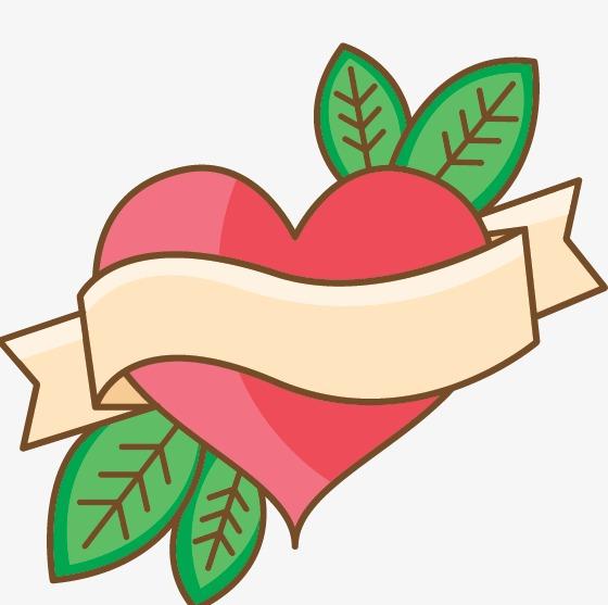 Elemento De Dibujos Animados De Amor El Día De San Valentín Regalo