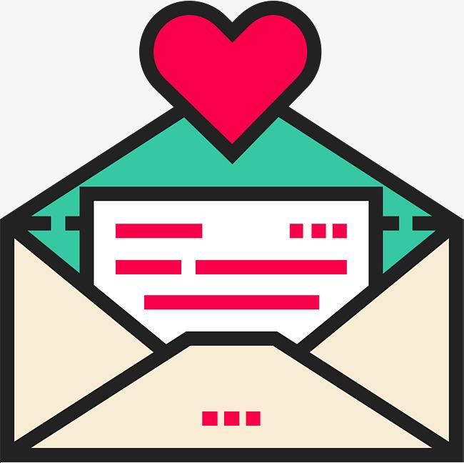 Desenhos Animados De Amor Cartas Grtis PNG E Vetor