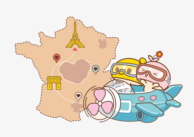 Map Of France Cartoon.Cartoon Map Of France Travel Cartoon Clipart Map Clipart Travel