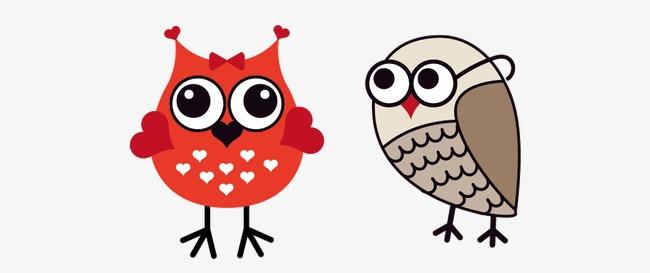 Kartun Owl Owl Gambar Kartun Kartun Burung Hantu Png Dan Vektor
