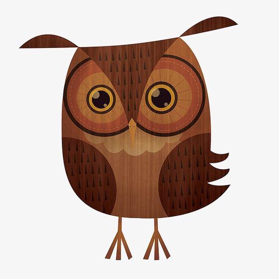Kartun Burung Hantu Owl Comel Haiwan Imej Png Dan Clipart Untuk Muat