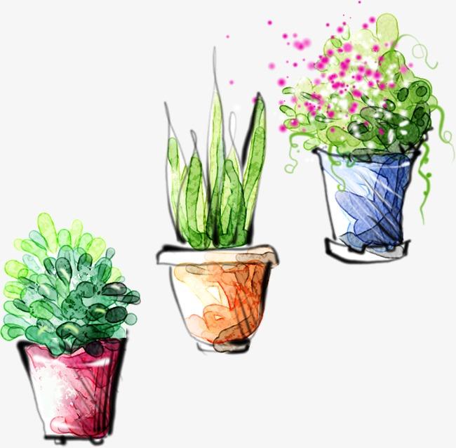 Sketsa Bunga Lukisan Pasu Bunga Hiasan