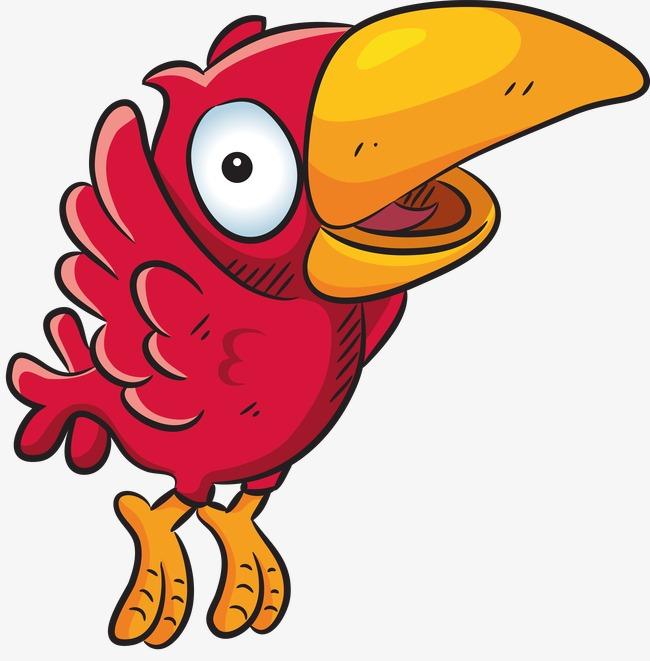 Kartun Burung Beo Burung Burung Burung Burung Tangan Dicat Imej Png