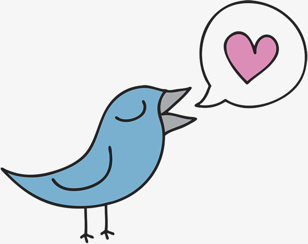 Gambar Kartun Burung Burung Sayang Seperti Imej Png Dan Clipart