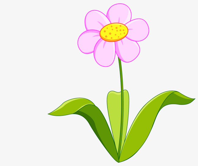 Cartoon Pink Flowers Cartoon Vector Cartoon Pink Png And Vector