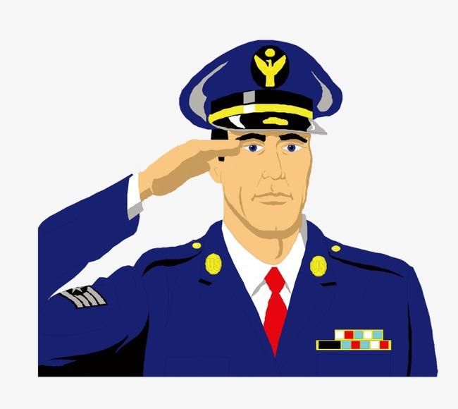 dessin officier de dessins anim u00e9s les soldats de l ic u00f4ne officier de caract u00e8res image png pour