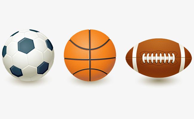 cartoon realistic soccer basketball football  soccer