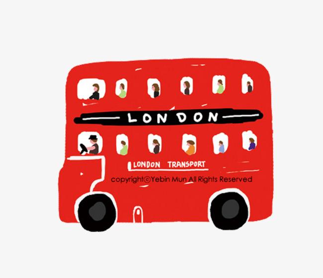 dessin de bus rouge bus rouge londres moyens de transport