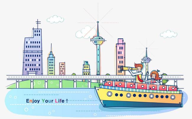 desenhos animados de cruzeiros marítimos mar o cruzeiro o telescópio