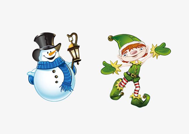 le bonhomme de neige avec un gar u00e7on de dessins anim u00e9s