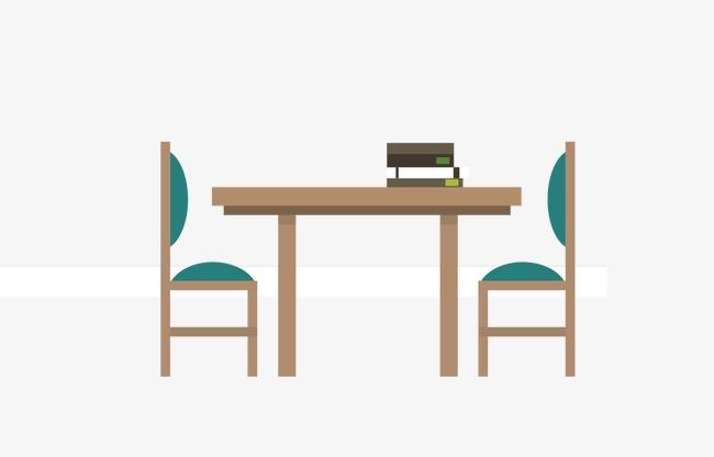 Mesa De Dibujos Animados Cartoon Mesa De Comedor Muebles Png Y