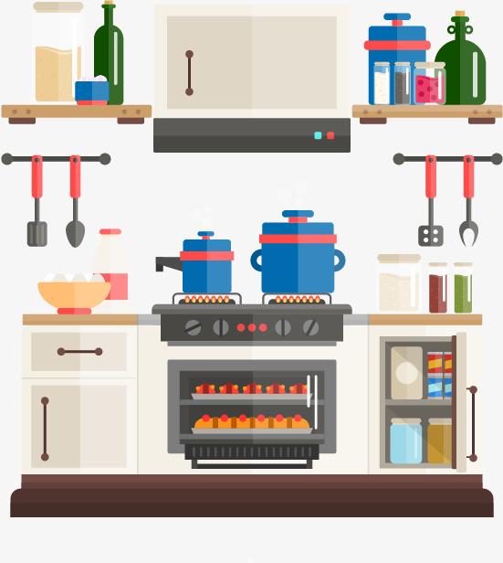 كارتون، سهم التوجيه، أدوات المطبخ، أدوات المائدة رسوم