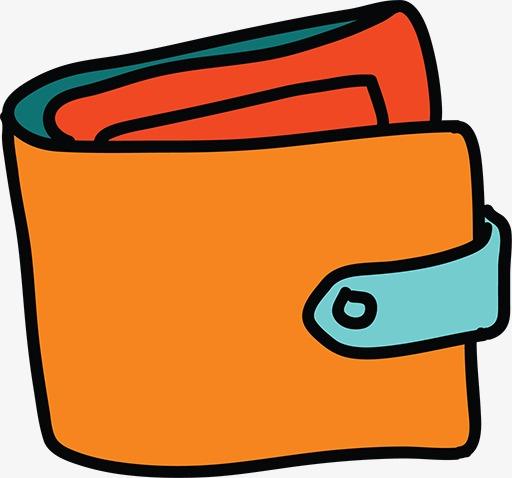 Cartoon Wallet, Cartoon Clipart, Business Element Material ...