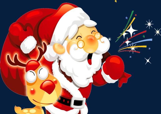 Caricatura De Barba Blanca Abuelo Santa Claus Lovely