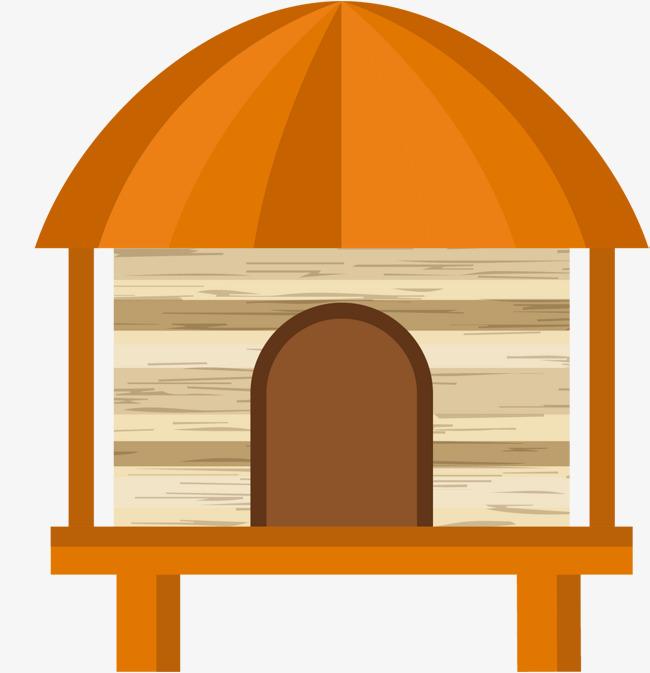 Dibujos Animados De Sala De Madera Arquitectura Pequena Casa Ban Sao