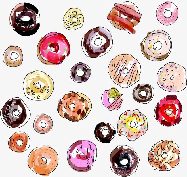 Cartoon Kuchen Essen Comics Lebensmittel Illustrator Lecker Gourmet