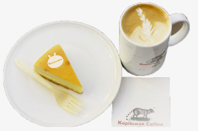 Kaffee Und Kuchen Tee Am Nachmittag Aus Katzenkacke Katzenkot Kaffee