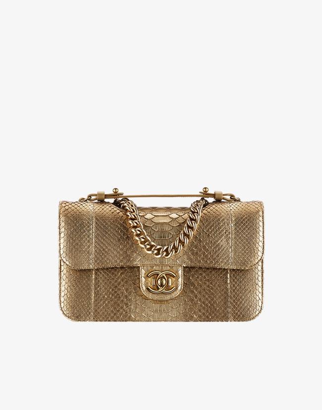 8fffebdb9df Chanel Bolsa De Couro Dourado Feminino O Produto Chanel Golden PNG ...