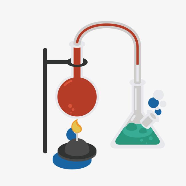 la r u00e9action chimique de l exp u00e9rience chimique exp u00e9rience gradient png et vecteur pour