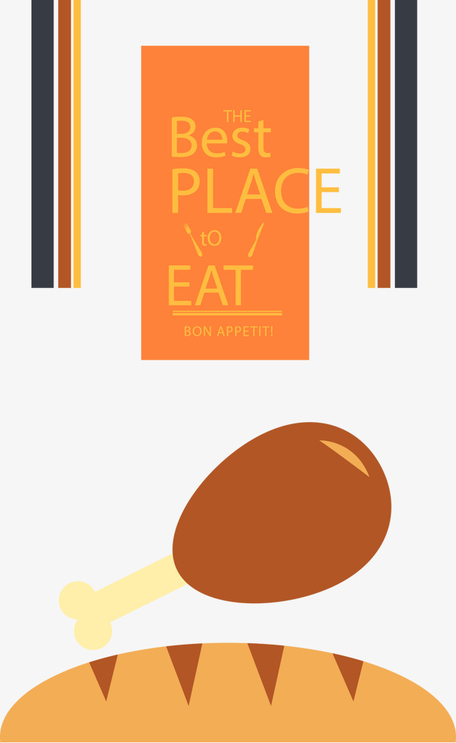 Chicken Food Vector Illustration Ai Chicken Vector Food Vector