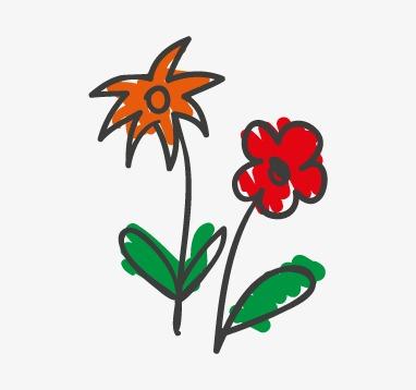 Dibujos Infantiles De Flores Videos De Los Ninos Flores Pintado A