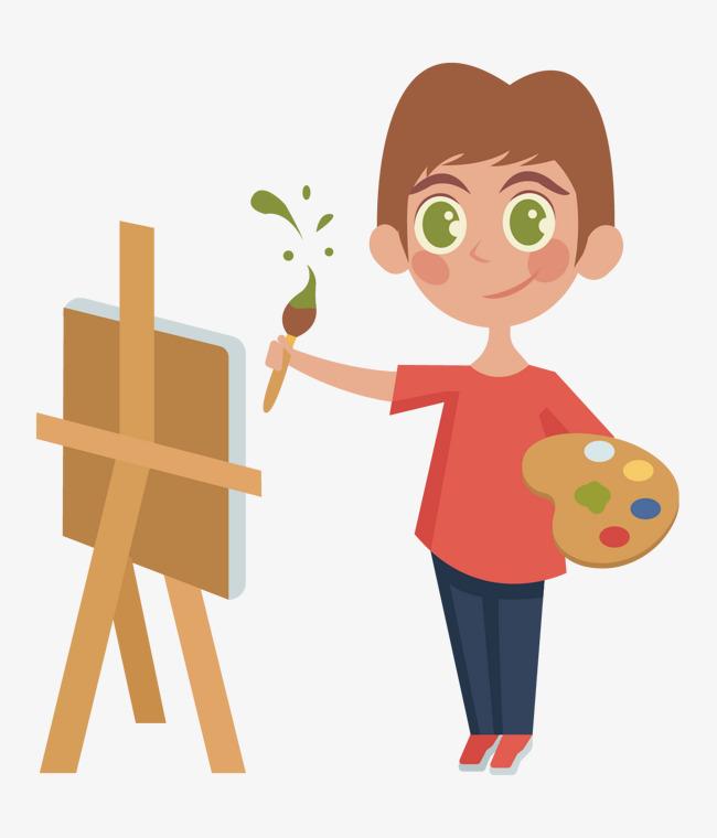 Los Niños Pintura Arte Calidad La Vida PNG y Vector para Descargar ...