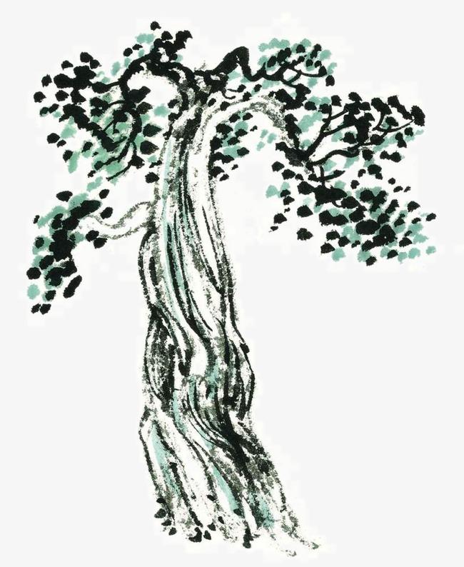 Technique de dessin de la carte l arbre peinture chinoise de l arbre les arbres image png pour - Dessin arbre chinois ...