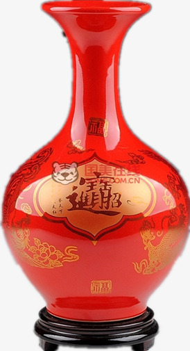 Chinese Red Vase Ornaments Chinese Clipart Product Kind Red Png