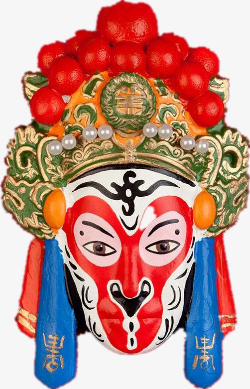 Chinoiserie Teater Topeng Monkey King Muka Raja Monyet Topeng Drama