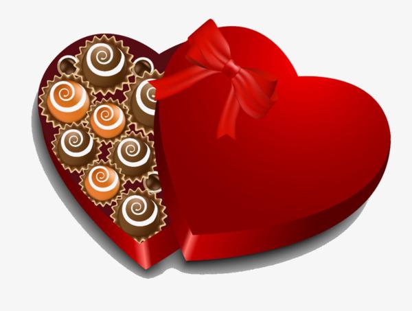 Boîte De Cadeau Le Jour De Noël Clip Art: Boîte De Chocolats Chocolat Boîte Cadeau Cadeau Image