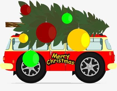 Autos De Navidad Arbol De Navidad Verde Organizar Imagen Png Para
