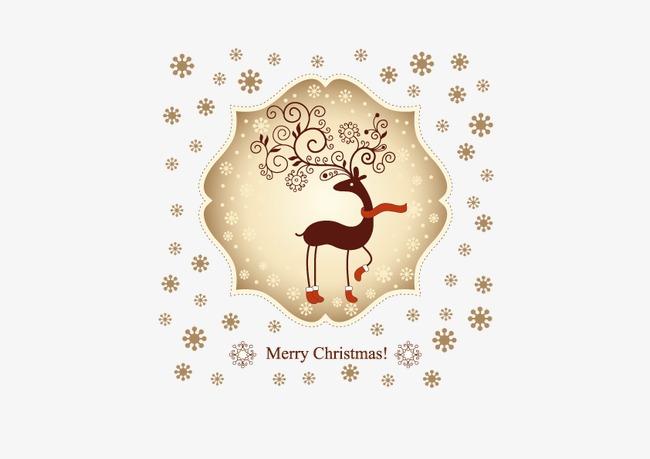 La Carte De Visite Vecteur Decoration Noel Gratuit PNG Et