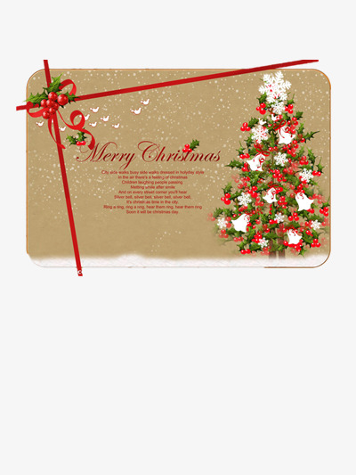 Carte De Nol Gratuit PNG Et Clipart