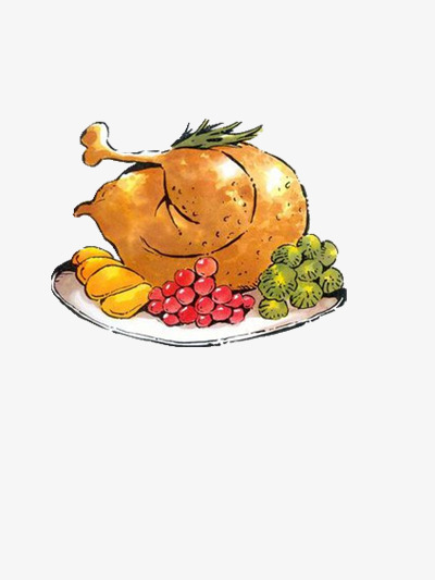 Christmas Food Turkey Food Clipart Turkey Clipart Chicken Png