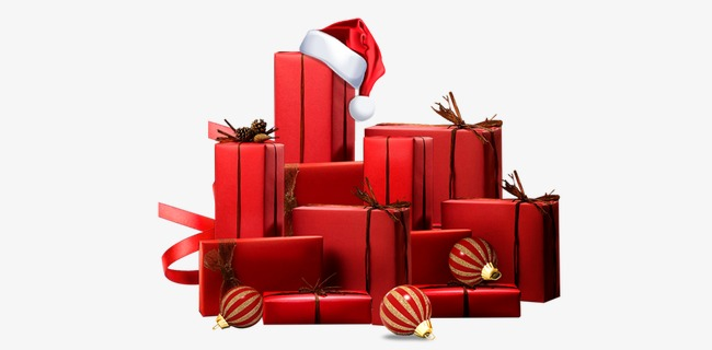 Christmas Gift Box Gift Clipart Christmas Red Png Image And