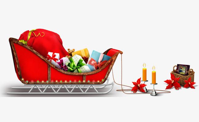 Navidad Autos De Navidad Regalo Coche Santa Claus Archivo Png Y Psd