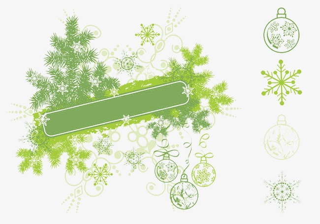 Christmas Snowflake Banners Snowflake Clipart Decorative Pattern