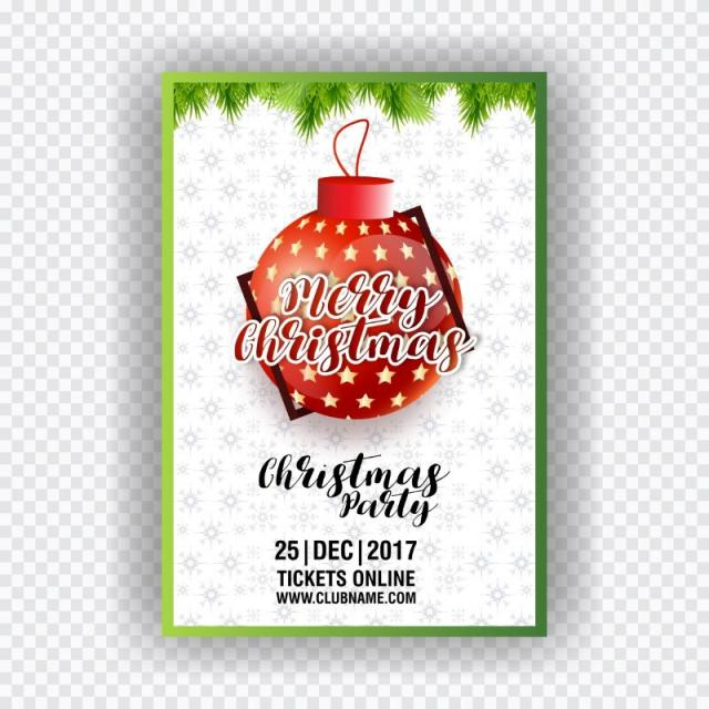 christmas ticket template for free download on pngtree