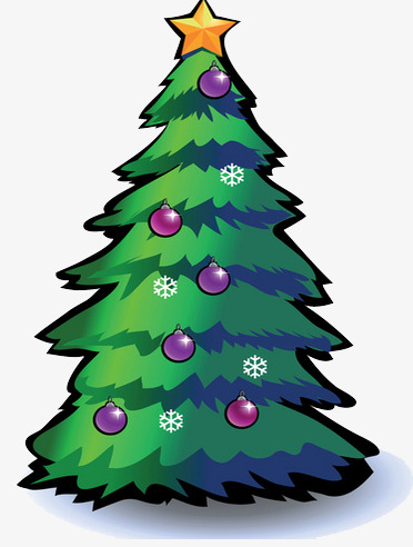Christmas Tree Drawing Elements Tree Clipart Christmas Creative