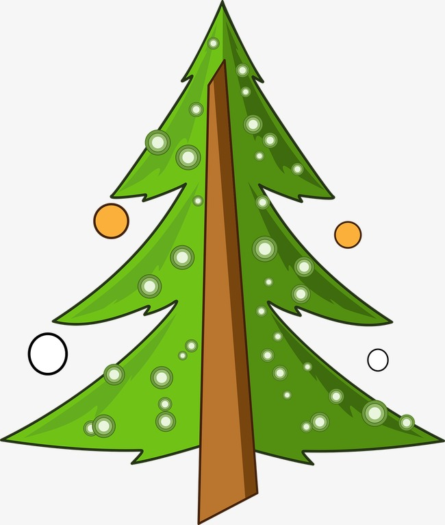 Snow tree. Christmas in clipart festival