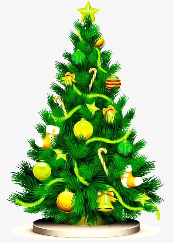Картинки новогодних елок, картинка прикол