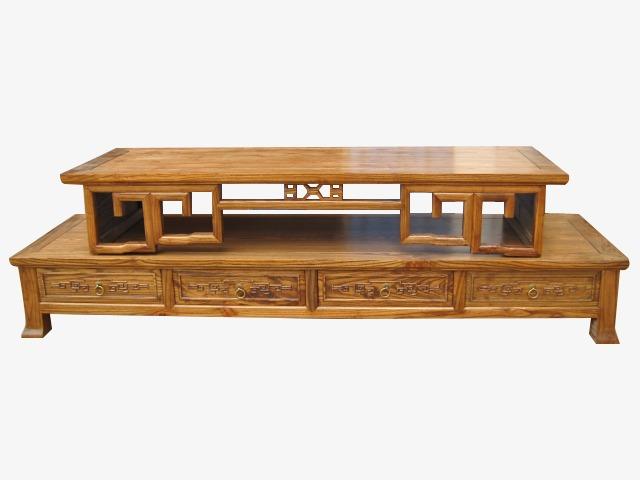 Mobilier de bureau en bois classique de la table table en bois