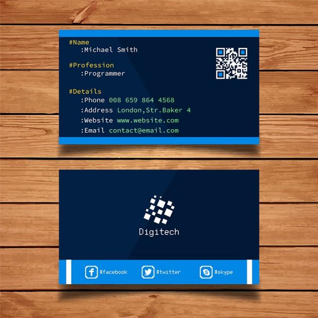 Coding business card template template for free download on pngtree coding business card template template cheaphphosting