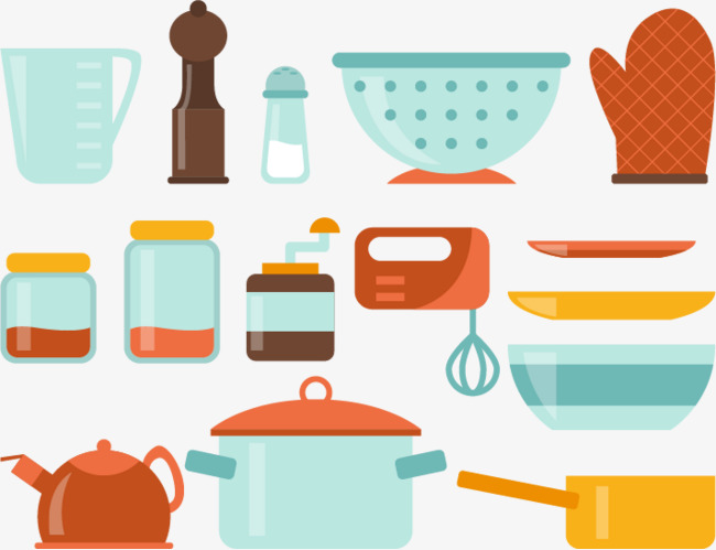 Warna Peralatan Dapur Bekalan Dapur Bekalan Dapur Bahan Bekalan