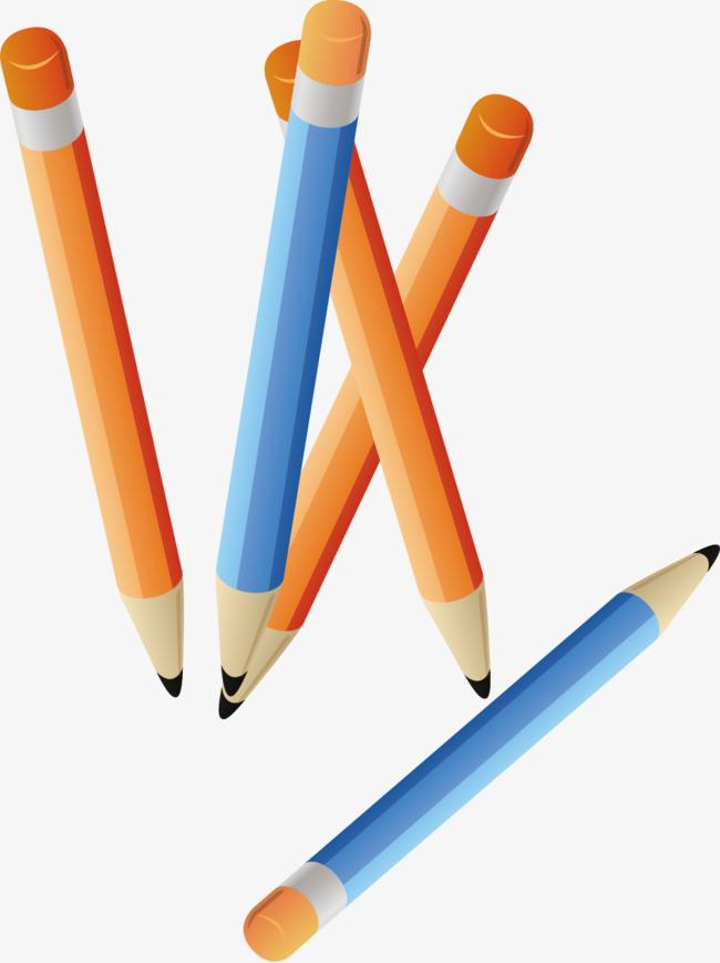 Pensil Warna Bahan Gambar Pensel Bahan Pensil Pensil Png Dan Vektor