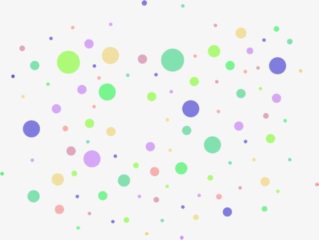 El Color De Los Elementos Del Punto De La Onda Color Polka