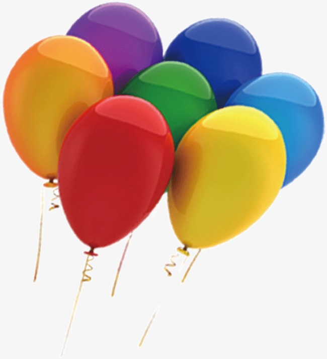 colored balloons colors balloon colored clipart png image and