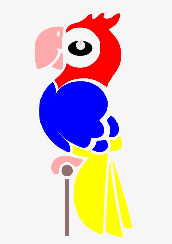 Warna Kartun Tsundere Sedikit Burung Beo Kartun Warna Kartun Warna
