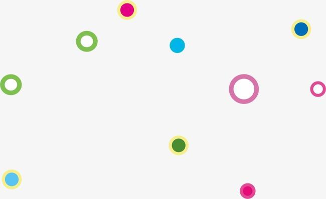 Puntos De Colores Flotando Color Dot Float PNG Y Vector