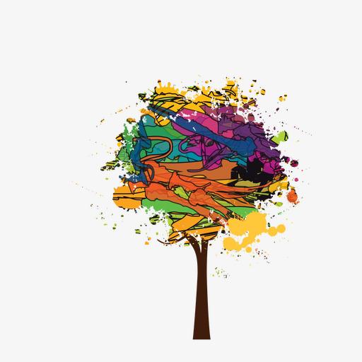 la couleur de l arbre dessin de l arbre couleur image png pour le t l chargement libre. Black Bedroom Furniture Sets. Home Design Ideas